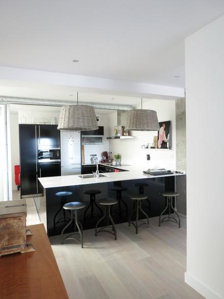 Cocina totalmente abierta, Paula Duarte Interiores