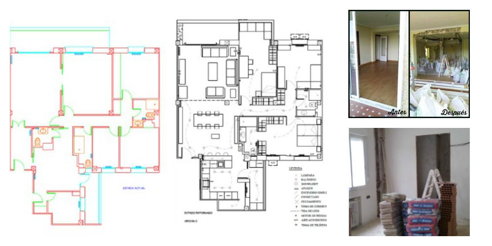 Reforma de vivienda completa (Barrio de Salamanca)