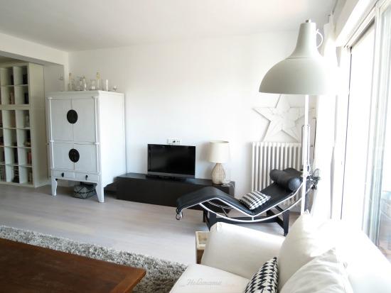 Salón y chaise lounge, Paula Duarte Interiores