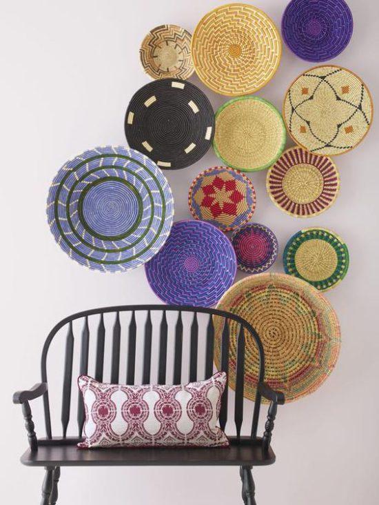 este tipo de cestos planos son bastante comunes en las cesteras espaolas muchas veces los habris visto y habris pensado que no os gustaban nada